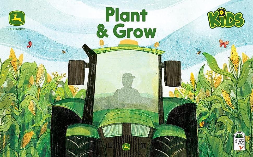 tractor dirt john deere farm plant and grow