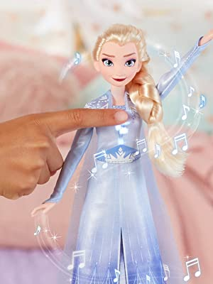 Singing, Elsa, Frozen 2, canta, bambola, Into the Unknown