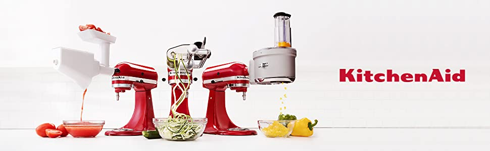 KitchenAid Gemüseschneider – Optionales Zubehör für die KitchenAid Küchenmaschine