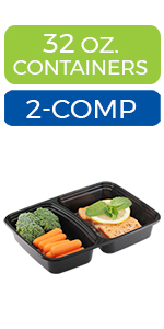 meal prep containers one compartment