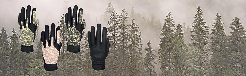 sportsmans gloves Zero Friction outdoor camo camouflage desert Police field gun hunting shooting