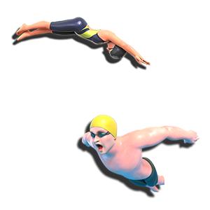 オリンピック 東京 自由形 個人メドレー バタフライ 背泳 平泳ぎ クロール