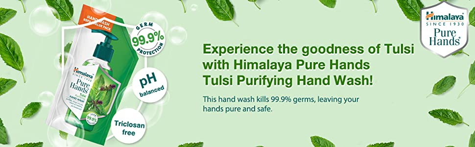 pure hands; goodness of tulsi