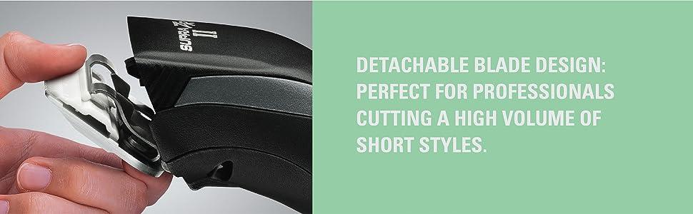 detachable blades