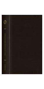 ESV Single Column Journaling Bible, Large Print, TruTone, Deep Brown