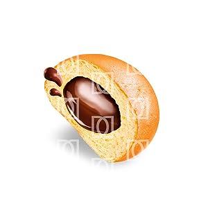 Dulcesol, 🥐🍫 Pandorino 4 unidades (Bizcocho con chocolate ...