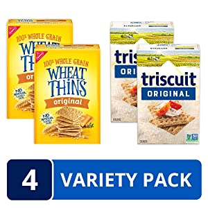 Triscuit Wheat Thins Cracker Variety Pack