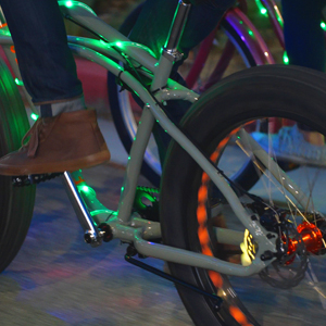 fun night rides cruiser bikes