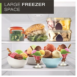 LARGE FREEZER SPACE