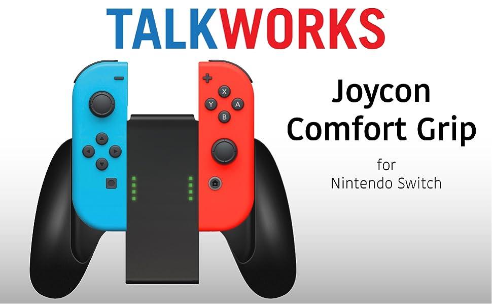 Nintendo Switch Controller Joycon Comfort Grip