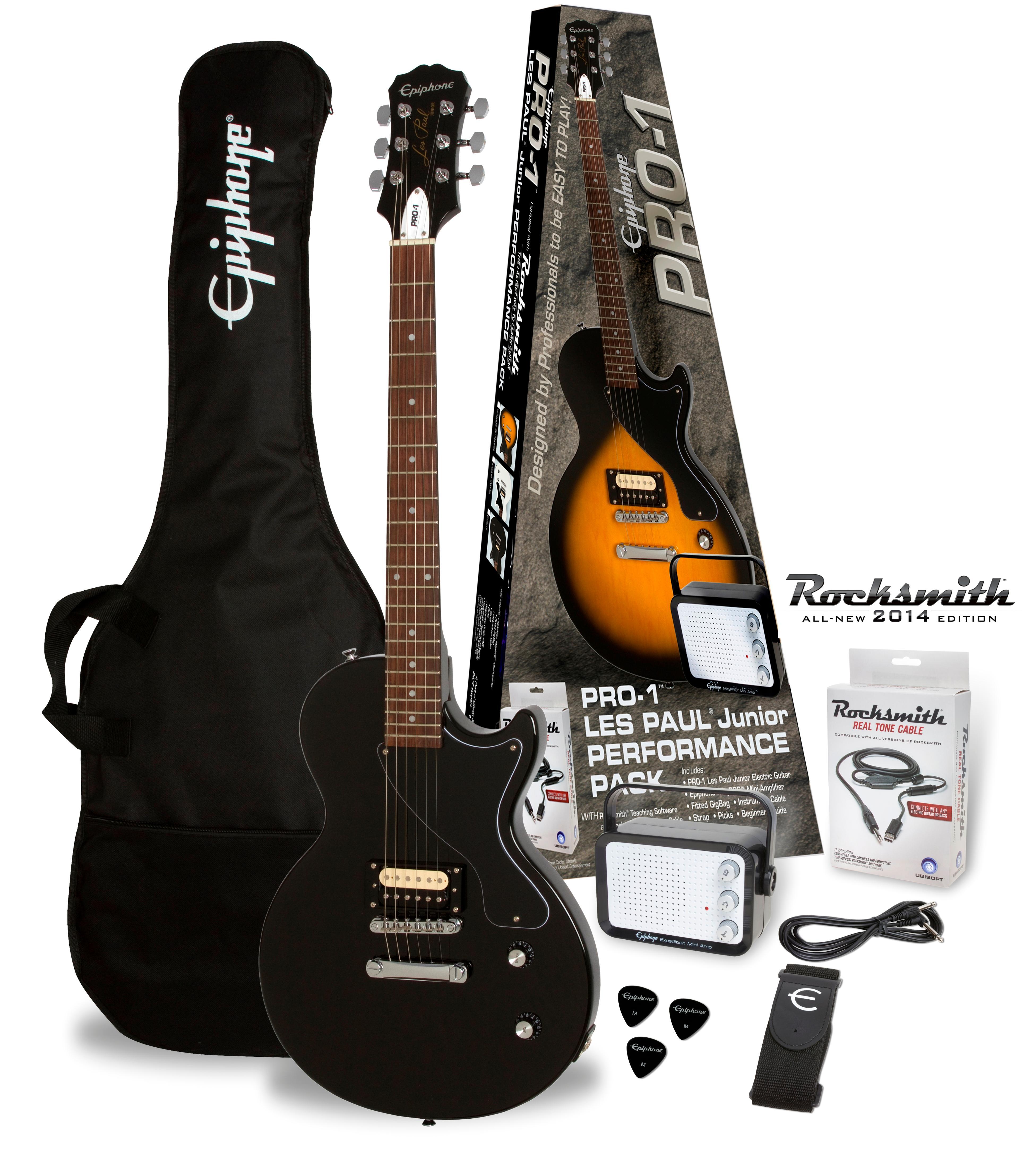 Epiphone Pro 1 Les Paul Junior Performance Guitar Starter
