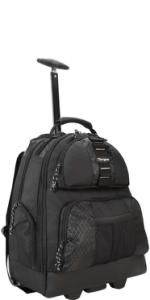 Amazon.com: Targus Compact Rolling Backpack for Business