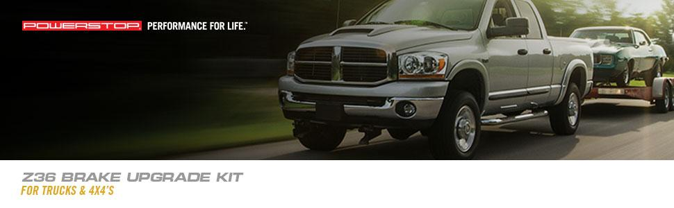 truck brake pads, towing brake pads, hauling brake pads, truck and tow brake kit, truck brakes