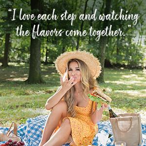 Just Feed Me, Just Jessie, Jessie James Decker, southern cookbook, family friendly recipes, cajun