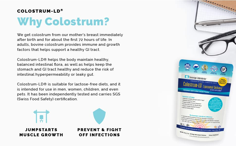 Sovereign Laboratories Colostrum LD
