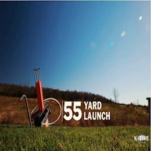 55 yard launch