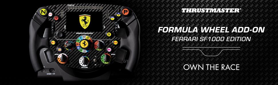 Thrustmaster; SF1000; SF 1000; F1; Formula 1; Lewis; Ferrari; Scuderia; Wheel; Add on; Race