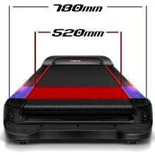 Sportstech Cinta de Correr Profesional F50 Gran Pantalla Táctil LCD Android Soporte Tableta USB WiFi