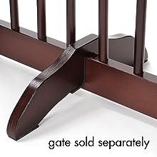 pet gate support feet