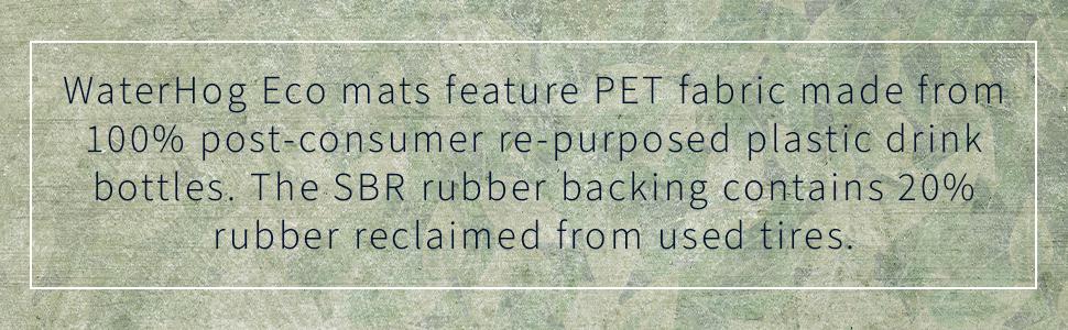 WaterHog Eco Mats, M+A Matting, safe mats, clean mats, comfortable mats, floor protection