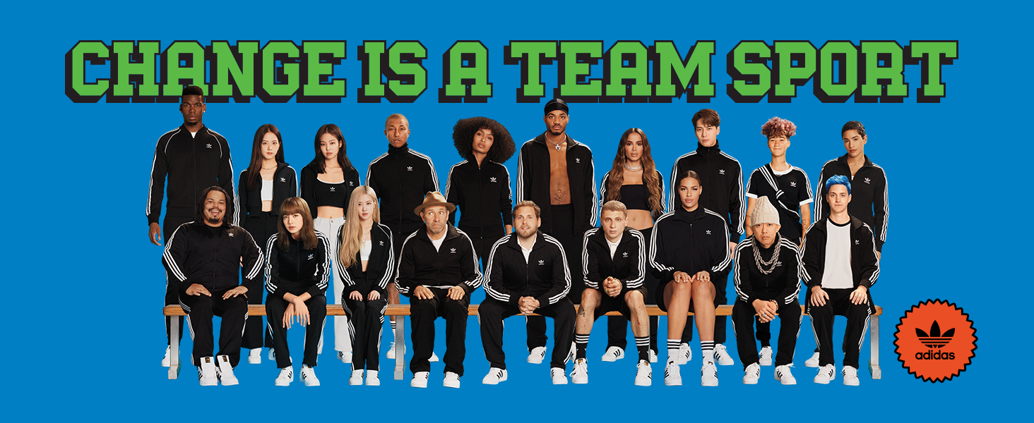 adidas Change is a Team Sport
