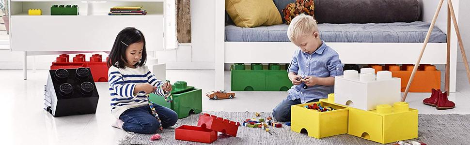 Ladrillo de almacenamiento de 8 espigas de LEGO, caja de ...