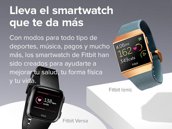Fitbit Ionic Adidas Edition , El Smartwatch Deportivo, Azul (Tinta ...