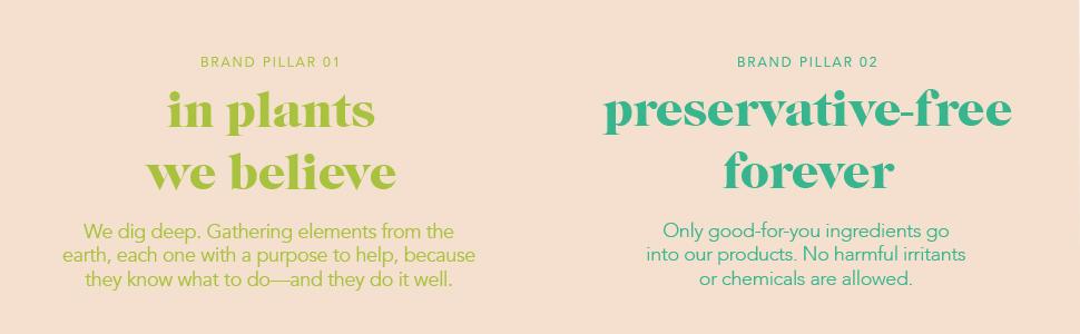 boscia brand pillars plant based preservative free
