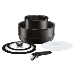Ingenio Performance 8 Pieces Cookware Set, L6549372