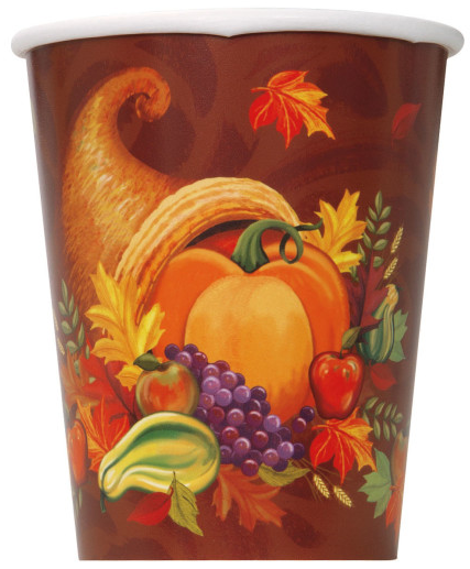 Fall Harvest Thanksgiving Oval Paper Plates 8ct · Fall Harvest 9oz Paper Cups 8ct · 12oz Brown Paper Cups 10ct · 5.5oz Clear Plastic Wine Glasses 8ct ...  sc 1 st  Amazon.com & Amazon.com: Fall Harvest Thanksgiving Oval Paper Plates 8ct ...