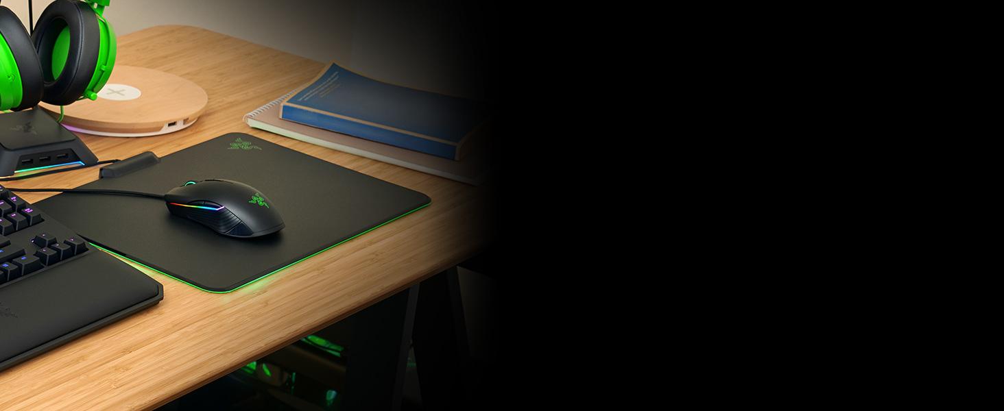 Razer Firefly Hard Edition;Mousepad;Mousemat;Gaming;Esports;
