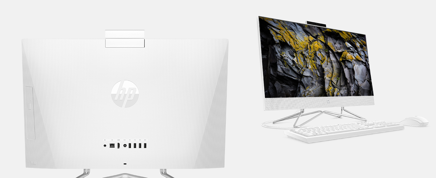 Hp all-in-one pc, hp, desktop, 11th Gen Intel i7-1165G7 Processor