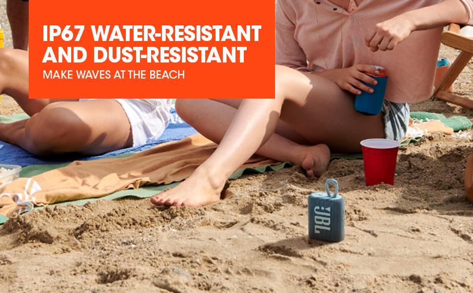 JBL GO3, Waterproof bluetooth speaker, IP67 Waterproof speaker
