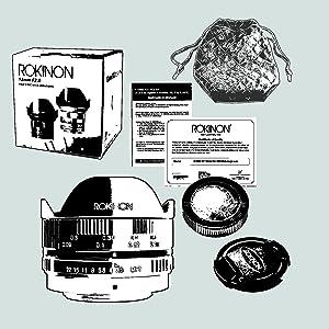 Rokinon 7.5mm.F3.5