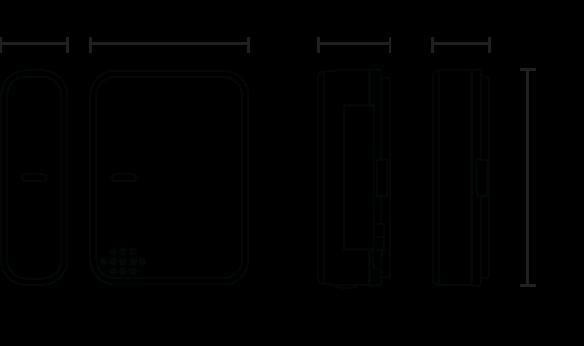 Amazon Com Centralite Micro Door Sensor Works With
