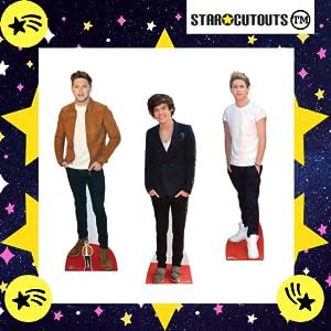 Recortes de cartón de 1 dirección, Niall Horan, Harry Styles, Liam Payne, Louis Tomlinson, Zayn Malik