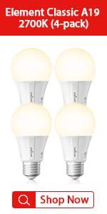 2700K light bulbs