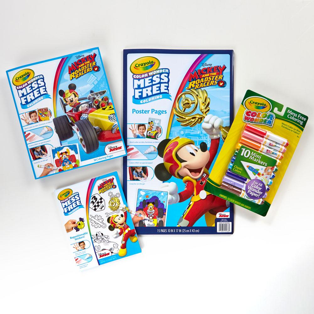 crayola color wonder mess free mickey mouse bundle