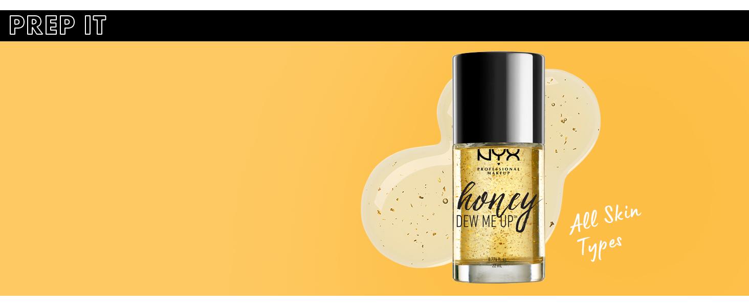 nyx honey dew me up face primer