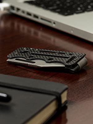 SOG Money Clip Knife, Ultra C-Ti Mini Pocket Knife
