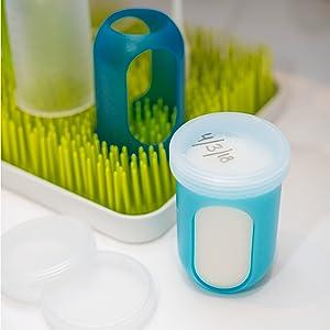 NURSH Milk Storage Lids Pack of 3 Boon