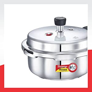 Prestige Outer Lid Stainless Steel Pressure Cooker