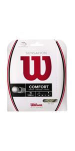 Unisex Wilson Corda da Tennis Sensation Control 1.30 mm 12.2 m