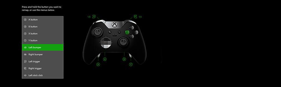 Amazon com: Xbox Elite Wireless Controller: Video Games