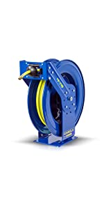 Coxreels High Visibility retractable safety air hose reel