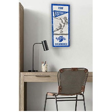 Indiana State Sycamores Vintage Player Sign