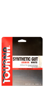 synthetic gut armor white