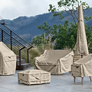 Patio Furniture Cover, Montlake FadeSafe, Classic Accessories, Cover With Warranty, Water-Resistant