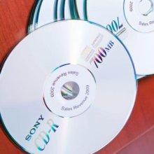 Étiquettes pour disques