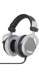 Beyerdynamic; headphones; studio; over-ear; dt 880;DT 880; pro; 80 ohm; 32 ohm; german